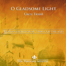 O Gladsome Light CD cover